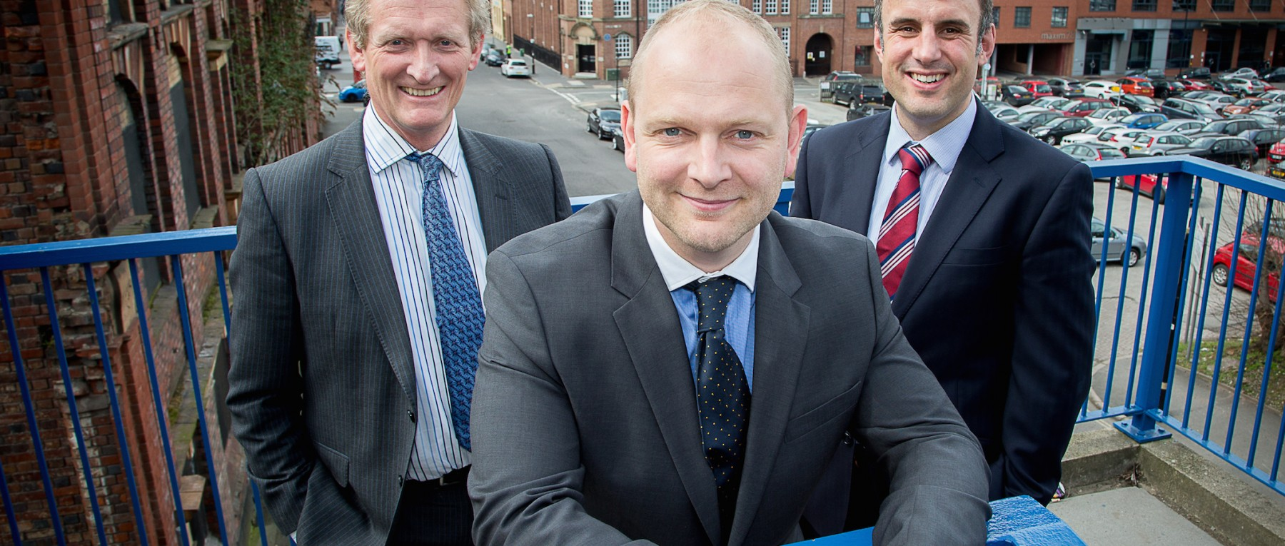 Fusion appointment l-r Steven Jelfs, Michael Stephenson, Gavin Stephens