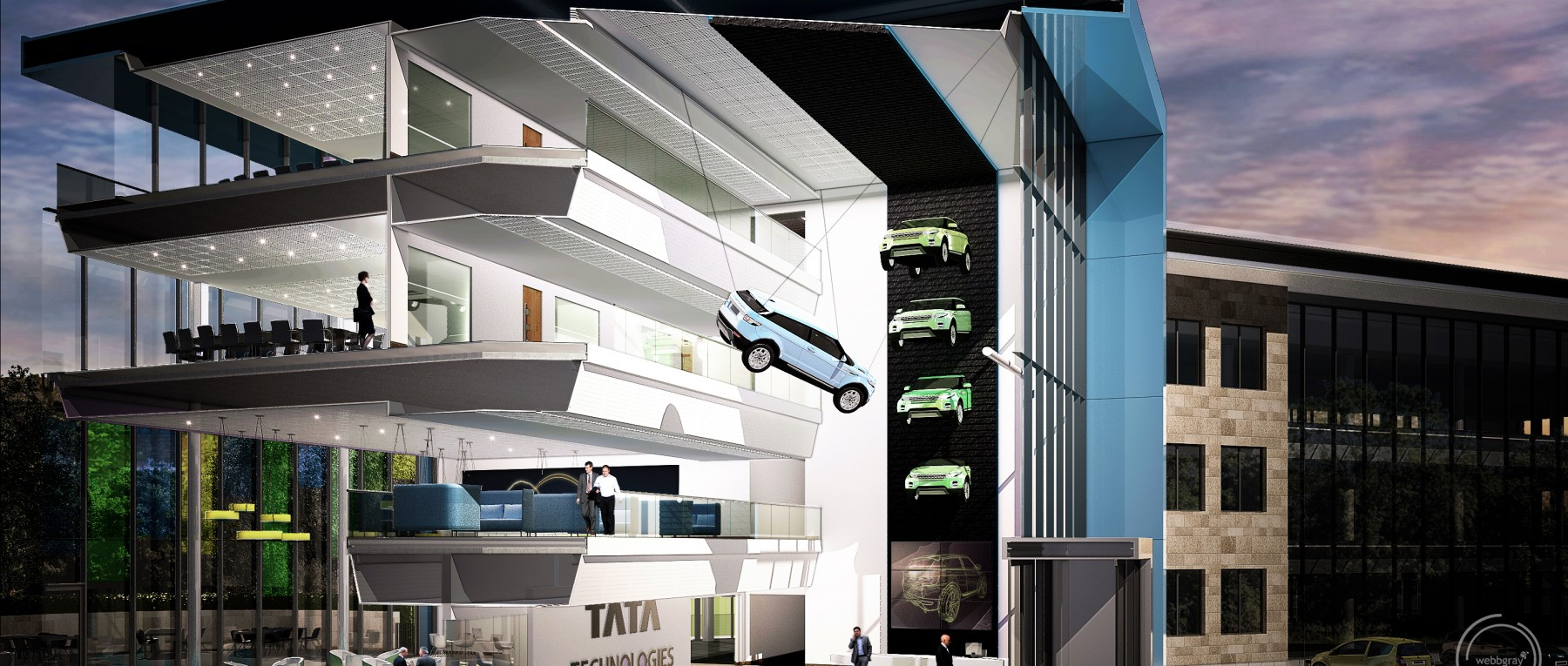 Tata Technologies Limited, Warwickshire - Fusion